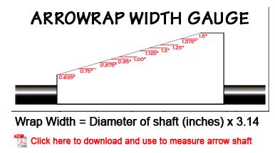 Arrow Wraps by Arrowrap (Your source for arrow wraps)